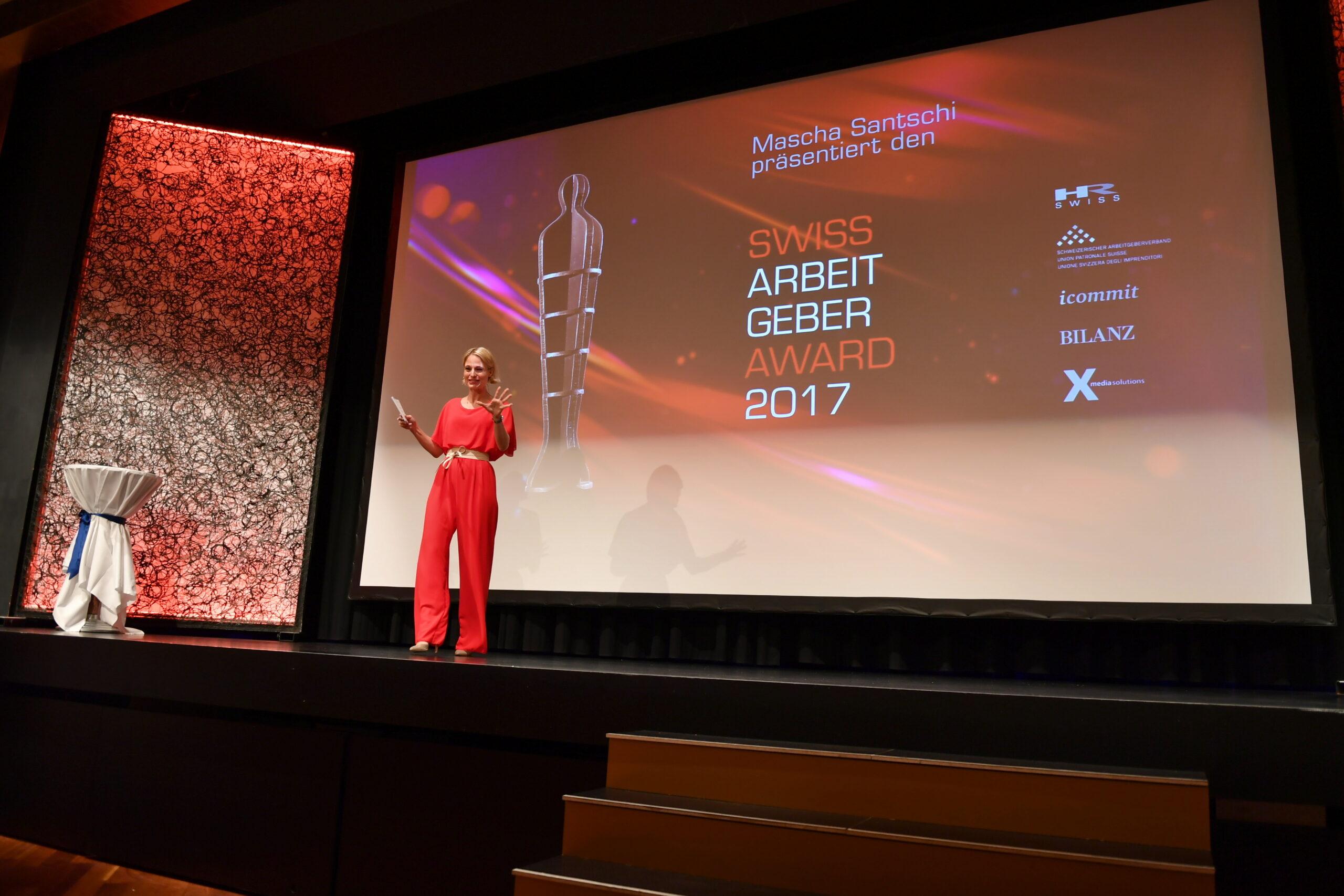 Beste Arbeitgeber am Swiss Arbeitgeber Award 2017 ausgezeichnet